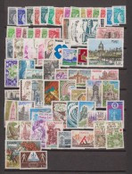 1978-FRANCE-ANNEE COMPLETE 1978**.69 TIMBRES - 1970-1979