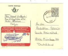 REF4688/ Entier CP Publibel 2769F Sealink Jetfoils Ostende-Douvres C.Horrues 1982 > München Deutschland - Publibels