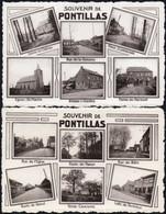 Pontillas - 2 Cartes Multivues Différentes - Fernelmont