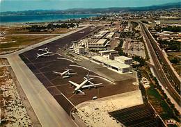 Aviation - Aéroport - Nice Côte D'Azur - Vue Aérienne - Airport - CPM - Voir Scans Recto-Verso - Autres