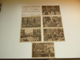 Beau Lot De 6 Cartes De L' Avènement Du Roi Léopold III   Mooi Lot Van 6 Postkaarten - 5 - 99 Cartes