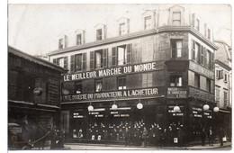 Top RARE ! Carte Photo ! NANCY Maison JULES HURSTEL  6 Rue St-JEAN - Nancy