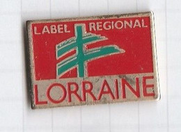 PINS REGION LORRAINE 1 Label Régional - Administrations