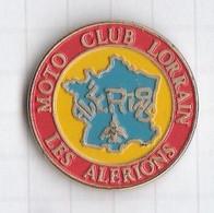 "PINS REGION LORRAINE 2 Moto Club "" Les Alerions "" - Administrations"
