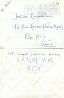 ALGERIE TLEMCEN ORAN OMec SECAP 24-9-1957 …/ PERLE DU MOGHREB / SES SITES SES VINS / SES TAPIS – Envoi Sergent SP 87 037 - Covers & Documents