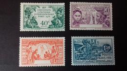 """CAMEROUN  PA 149a/152a**   Série Coloniale """" EXPOSITION COLONIALE De PARIS""""   VARIETE - Unused Stamps"""