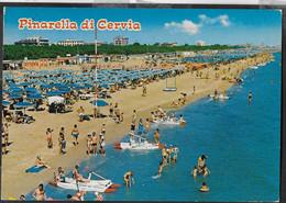 EMILIA ROMAGNA - PINARELLA DI CERVIA - PINETA SPIAGGIA - VIAGGIATA 1985 - Otras Ciudades