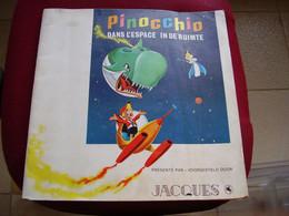 Album Chromos Images Vignettes Chocolat Jacques  *** Pinocchio *** - Sammelbilderalben & Katalogue