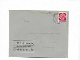 Brief Aus Großenhain 1937 - Lettres & Documents