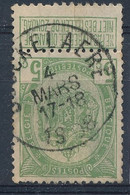 Nr 83 Met Stempel  Couckelaere - 1893-1907 Wapenschild