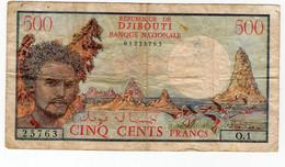 500 Francs 1979/1988 Djibouti En Tb - Dschibuti