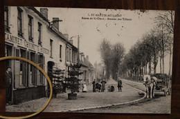 CPA Ak 1920 St Saint MARTIN Au Laert Route De St Omer Avenue Des Tilleuls Cover Animée Voyagée - Other Municipalities