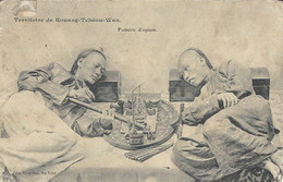 French Possession - Territoire De KOUANG-TCHEOU-WAN -  Opium Den - China
