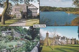 Unused Postcard, Lancashire, Bolton Multiview 2 - Otros