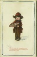 BERTIGLIA SIGNED 1910s POSTCARD VENDITORE DI FIAMMIFERI / VENDEUR D'ALLUMETTES  / MATCHSELLER - EDIT CCM N.1094/6 (1718) - Bertiglia, A.