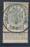 Nr    81  Met Stempel Wachtebeke - 1893-1907 Wapenschild