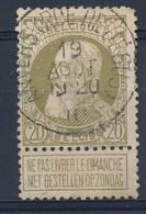Nr    75 Met Stempel  Anvers (rue De Jesus) - 1905 Grove Baard