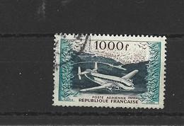 1954 - Poste Aérienne France - N°33 Yvert Et Tellier Oblitéré - 1927-1959 Used