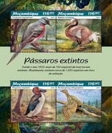 MOZAMBIQUE 2019 - Extinct Pigeons: Dodo - YT 8215-8, CV=23 € - Columbiformes