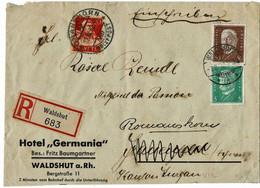 1932, 20 C. Tell Als Nachsendung!,  A 5246 - Cartas