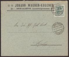 Facture / Enveloppe Ancienne ESCH SUR ALZETTE Luxembourg  1923 Johann WAGNER KUGENER - Luxemburgo