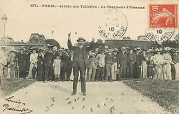 75* PARIS 1er –  Tuileries  Charmeur D Oiseaux   RL040139 - Distretto: 01