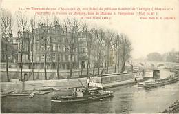 75* PARIS 4e – Quai D Anjou – Hotel President  L.DE THORIGNY    RL04.0499 - Paris (04)