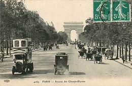 75* PARIS  8e –  Av Des Champs Elysees -    RL04.1196 - District 08