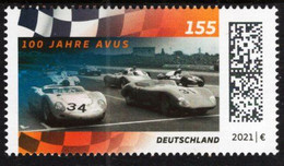 Germany - 2021 - Centenary Of AVUS Controlled-Access Highway And Racetrack - Mint Stamp - Ungebraucht
