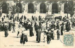 75* PARIS  9e –  Metro – Place De L Opera    RL04.1427 - District 09