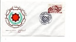 ALGERIE FDC 1975 ORGANISATION ARABE DU TRAVAIL - Algerije (1962-...)