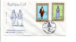 ALGERIE FDC 1975 COSTUMES ALGERIENS - Algerije (1962-...)
