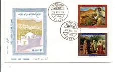 ALGERIE FDC 1969 PEINTURES DE HADJ NASR-EDDINE - Algerije (1962-...)