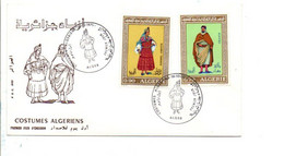 ALGERIE FDC 1971 COSTUMES ALGERIENS - Algerije (1962-...)