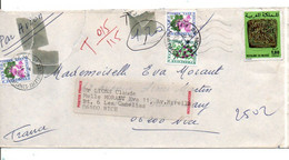 ALGERIE FDC 1974 MILLENAIRE NAISSANCE DE AL-BIRUNI - Algerije (1962-...)