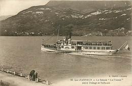 74* ANNECY  Lac – Bateau «la France»          RL06.1341 - Annecy