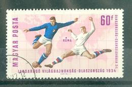 HONGRIE - 1834 Oblitéré - Coupe Du Monde De Football, à Londres. - 1966 – Angleterre