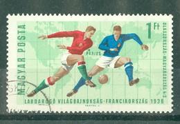 HONGRIE - 1835 Oblitéré - Coupe Du Monde De Football, à Londres. - 1966 – Angleterre