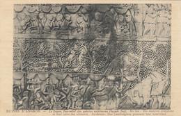 7854) Ruines D` ANGKOR - Le BAYON - Bas Relief Des Galeries Exterieures - Cambogia