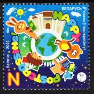 Belarus - 2021 - Happy Postcrossing - Mint Stamp - Belarus