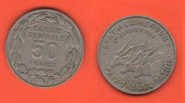 Cameroun Camerun 50 Francs 1960  CFA Afrika - Cameroon