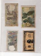 Lot 4 Billets Ex Afrique Occidentale Française - Sonstige – Afrika
