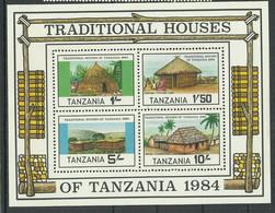 Tanzania 1984 Year, Mint Block  MNH(**) - Tanzania (1964-...)