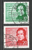 Germany DDR 1956 Year Used Stamps Mi.# 528-529 - Used Stamps