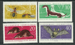 Germany DDR 1962 Year MNH(**) Mi.# 869-72 - Unused Stamps