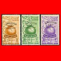 LIBYA 1955 Arab Postal Congress In Cairo Egypt (MNH) - Libye