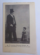 """""""Zirkus, Prinzess Nouma Hawa, Das Lebende Tautröpfchen, 62cm Groß"""" 1900♥ - Andere Persönlichkeiten"""