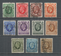 Great Britain 1934 Year Used Stamps - Used Stamps