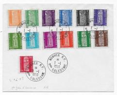NOUVELLE CALEDONIE  Lettre De NOUMEA  1959 1er Jour D'émission - Lettres & Documents