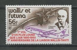WALLIS FUTUNA 1990 PA N° 168 ** Neuf MNH Superbe C 2.10 € Clément Ader  Avions Planes Aviation Bi-réacteur - Nuovi
